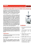 Shand & Jurs - Model 94645 - Pilot Operated Relief Valve (Vacuum Diaphragm Pilot) - Brochure