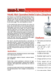 Shand & Jurs - Model 94640 - Pilot Operated Relief Valve (Pressure Diaphragm Pilot) - Brochure