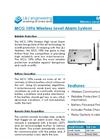 L&J Engineering - Model MCG 1096 - Wireless Level Alarm System - Brochure