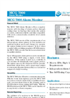 L&J Engineering - Model MCG 7000 - Alarm Monitor - Brochure