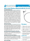 L&J Engineering MCG 8140 - Wireless Magnetostrictive Level Probe – Brochure