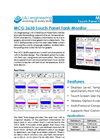 L&J Engineering - Model MCG 3630 - Touch Panel Tank Monitor - Brochure