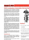 Shand and Jurs - Model 94570 - Combination Conservation Vent and Flame Arrester (2-12 Inch Sizes) - Brochure