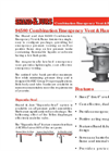 Shand & Jurs 94580 - Combination Emergency Vent and Flame Arrester - Datasheet