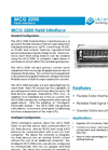 L&J Engineering - Model MCG 3200 - Field Interface - Brochure