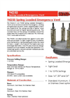 Shand & Jurs 94250 Spring Loaded Emergency Vent - Datasheet