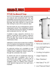 Shand & Jurs Biogas - Model 97120 - Sediment Trap - Brochure