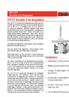Shand & Jurs Biogas 97177 Double Port Regulator - Datasheet