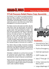 Shand & Jurs Biogas 97160 Pressure Relief/Flame Trap Assembly - Datasheet