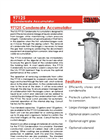 Shand & Jurs - Model 97125 - Condensate Accumulator - Brochure