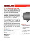 Shand & Jurs - Model 97110 - Automatic Drip Trap - Brochure