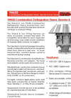 Shand & Jurs - Model 94450 - Combination Deflagration Flame Arrester & Free Vent - Brochure