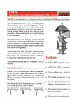 Shand & Jurs - Model 94470 - Combination Conservation Vent & Deflagration Flame Arrester - Brochure