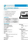L&J Engineering - Model MCG 2100 - Field Calibrator - Brochure