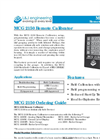 L&J Engineering - Model MCG 2150 - Remote Calibrator - Brochure