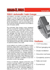 L&J Engineering - Model 92021 - Automatic Tank Gauge - Datasheet