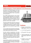 Shand & Jurs - Model 94225 - Emergency Vent & Manhole Cover (Pressure and Vacuum) - Brochure