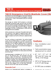 Shand & Jurs - Model 94210 - Emergency Vent & Manhole Cover (Hinged) - Brochure