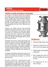 Shand & Jurs - Model 94306 - Vertical Flame Arrester - Brochure
