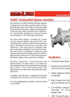 Shand & Jurs - Model 94307 - Horizontal Flame Arrester - Brochure