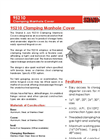 Shand & Jurs - Model 95210 - Clamping Manhole Cover - Brochure