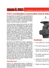 Shand and Jurs 97571 Combination Conservation Vent & Flame Arrester - Datasheet
