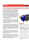 Shand & Jurs Biogas - Model 97101E - High Pressure Drip Trap with Electric Actuator - Brochure