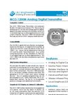 L&J Engineering - Model MCG 1200M - Analog / Digital Transmitter - Brochure