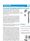Omnitrol 300 Series Pneumatic Modulating Liquid Level Controls - Datasheet