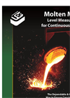 Molten Metal Level Measurement for Continuous Casters - Brochure