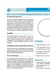 L&J Engineering - Model MCG 8153 - Flexible Magnetostrictive Level Gauge - Brochure