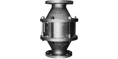 Shand & Jurs - Model 94406 - Vertical Inline Deflagration Flame Arrester