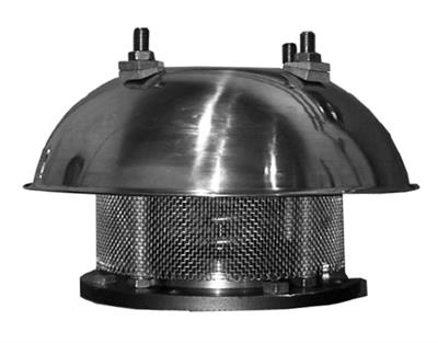 Shand & Jurs - Model 94140 - Spring Loaded Pressure Relief Vent (Spring Closed)