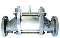 Shand & Jurs - Model 94407 - Horizontal Inline Deflagration Flame Arrester
