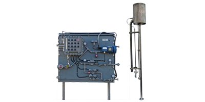 Shand & Jurs Biogas - Model 97301T - Waste Gas Burner with Touch Screen Control Panel