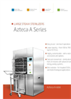 Model Large Azteca A Series - Steam Sterilizers Brochure