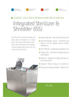Model ISS 25L - Integrated Sterilizer & Shredder – Brochure