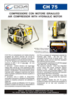 CH 75 OEM Air Compressor with Hydraulic Motor Brochure