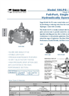 Model 106 PG Full Port, Single Chamber, Hydraulically Operated Valve - Technical Bulletin