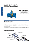 Model 106 / 206-PR Pressure Reducing Valve - Technical Datasheet