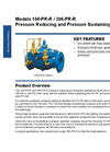 Model 106 / 206-PR-R Pressure Reducing and Pressure Sustaining Valve Datasheet