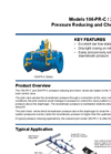 Model 106 / 206-PR-C Pressure Reducing and Check Valve Datasheet