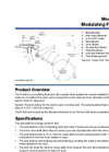 Model R-400 - Modulating Float Pilot Datasheet