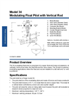 Model 34 - Modulating Float Pilot with Vertical Rod Datasheet