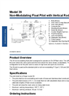 Model 39 - Non-Modulating Float Pilot with Vertical Rod Datasheet