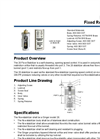Model 26 - Flow Stabilizer (Opening Sped Control) Datasheet