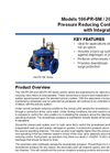 Models 106-PR-SM / 206-PR-SM - Pressure Reducing Control Valve With Integral Back-Up Brochure
