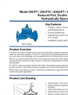 Model 206-PT / 206-PTC / S206-PT / S206-PTC - Reduced Port, Double Chamber Hydraulically Operated Valve Brochure