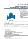 Model 206-PGM / S206-PGM - Reduced Port, Integral Back-Up, Dual Diaphragm, Automatic Control Valve Brochure