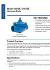Model 106-GE / 206-GE - Grooved Ends Brochure